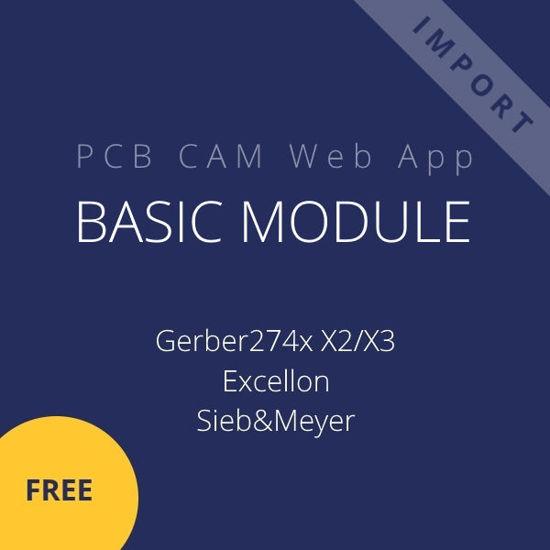 PCB CAM Web App Basic module